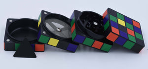 Puzzle cube grinder - Coughy