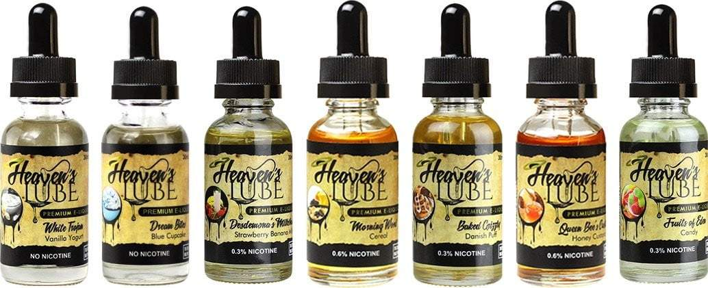 Heaven's Lube Ejuice - Coughy