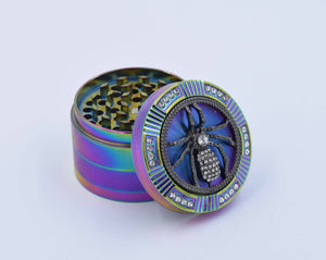 Rainbow Herb grinder - Coughy