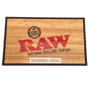 Raw bamboo floor mat - Coughy