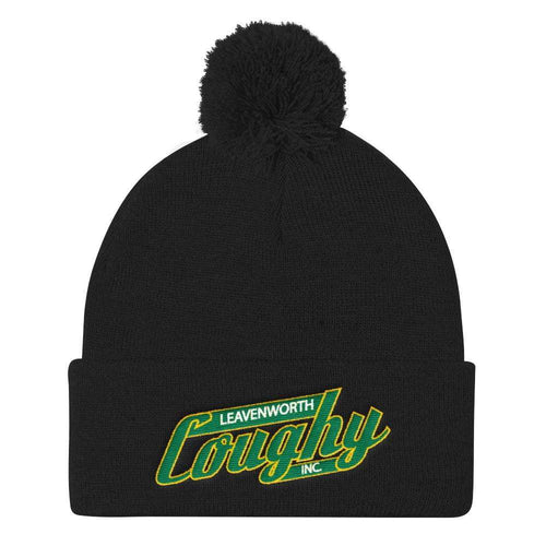 Coughy Pom Pom Knit Cap - Coughy