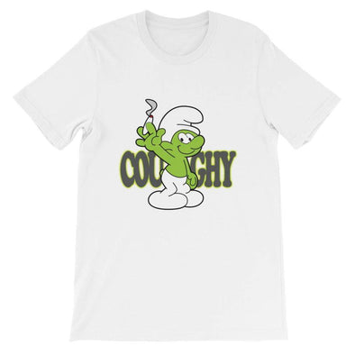 Coughy Character Short-Sleeve Unisex T-Shirt HQ - Coughy
