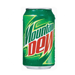Mt Dew Can - Coughy