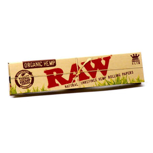 Raw Organic King Size Slim Rolling Papers - Coughy