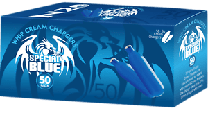 Special Blue Cream Chargers 50pc - Coughy