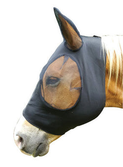 Jeffers Stretch Bug Eye Saver Fly Mask w/ Ears