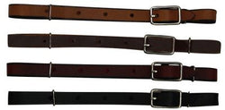 All leather curb Strap 1345