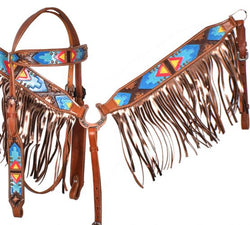 Showman ® Hand Painted Tribal HS/BC Set SH7045