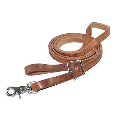 HERMANN OAK HARNESS ROPING REINS – 8?