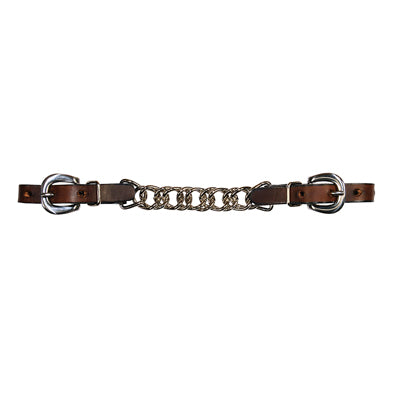 7822C: CURB CHAIN – CHOCOLATE – FLAT CHAIN