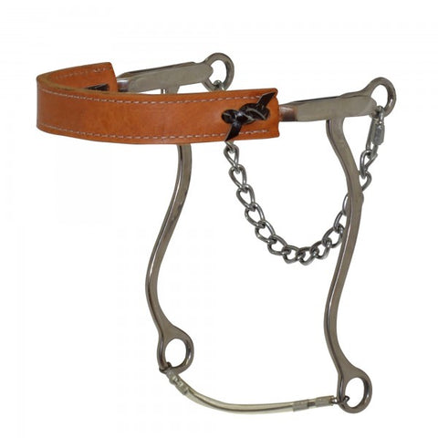 LEATHER NOSE HACKAMORE DR056