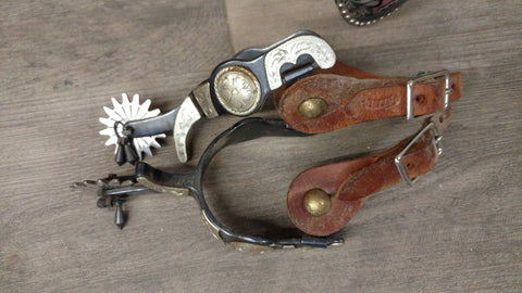 Used Jingle Bob Spurs with straps