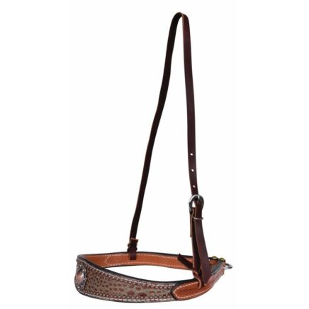 6069Q SHARON CAMARILLO: SURE FIT COPPER BERRY NOSEBAND