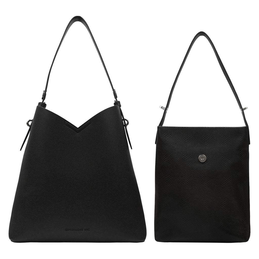 WALL ST DOUBLE TOTE