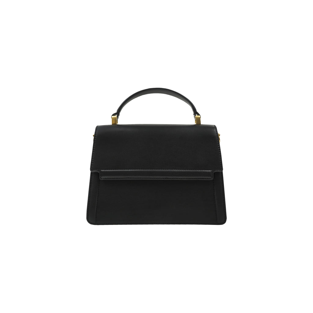 DOWNTOWN MINI SATCHEL BLACK