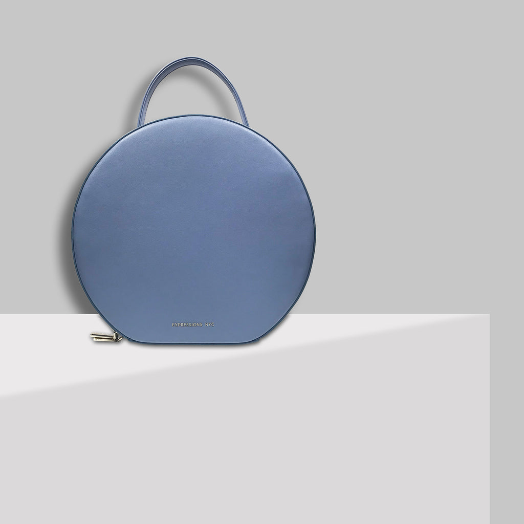 SOHO ROUND BACKPACK BLUE