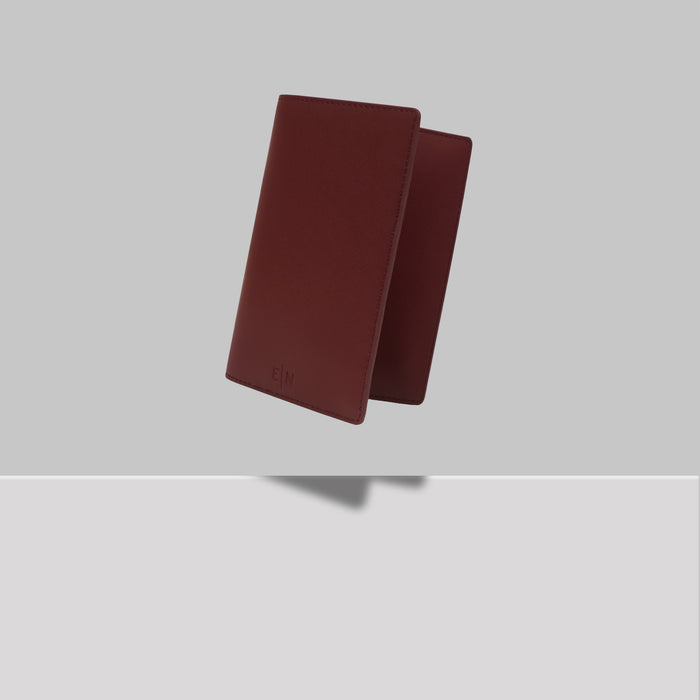 GRAND ST PASSPORT HOLDER BURGUNDY
