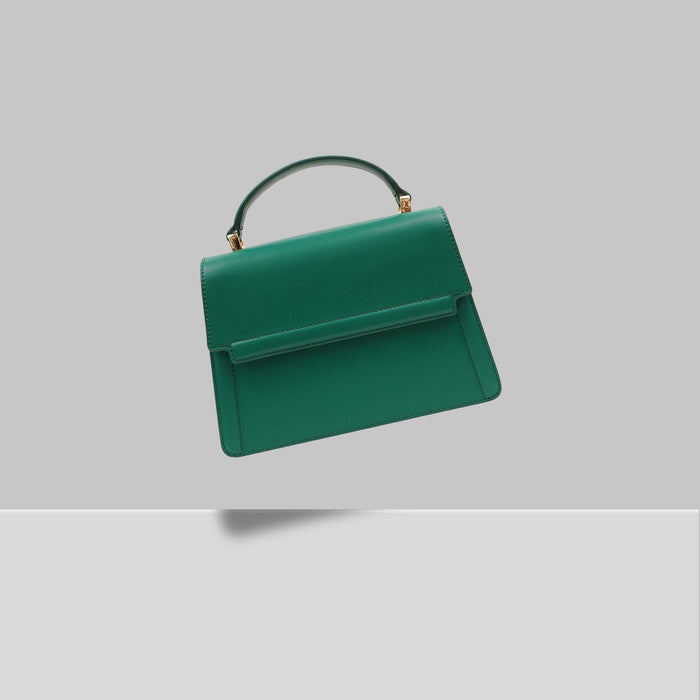 DOWNTOWN MINI SATCHEL GREEN