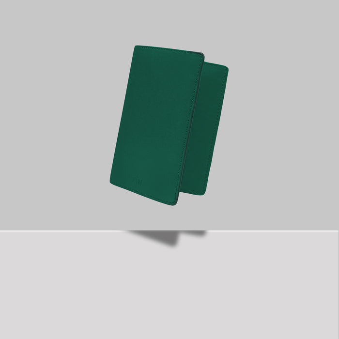 GRAND ST PASSPORT HOLDER GREEN