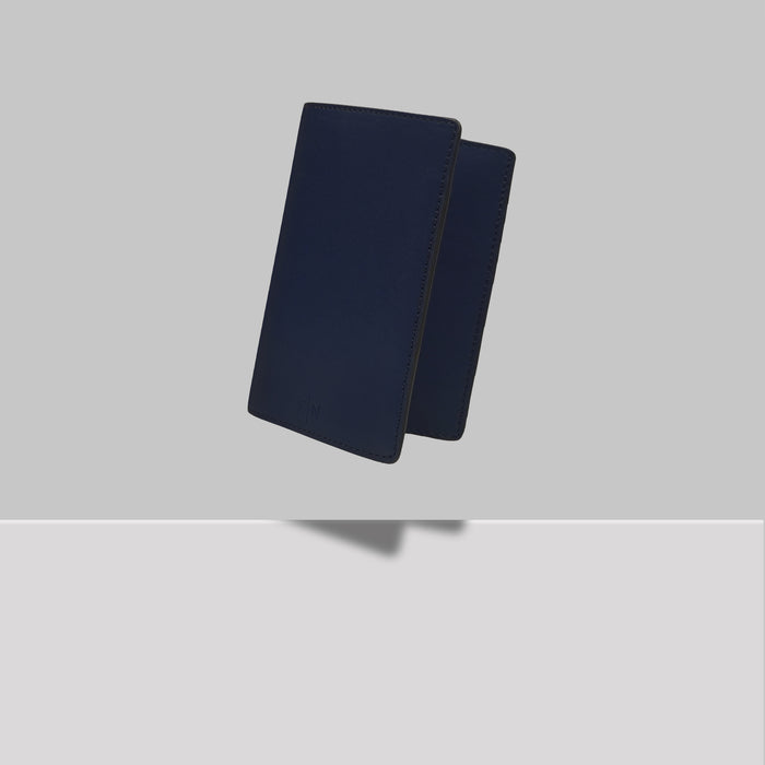 GRAND ST PASSPORT HOLDER NAVY