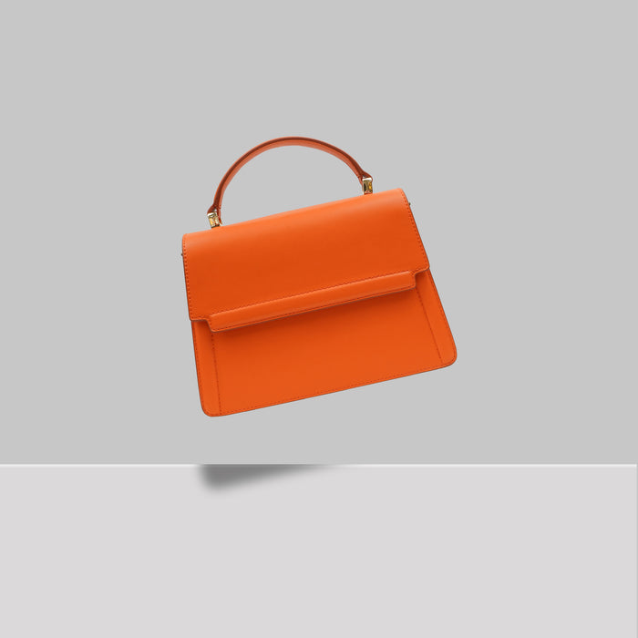 DOWNTOWN MINI SATCHEL ORANGE