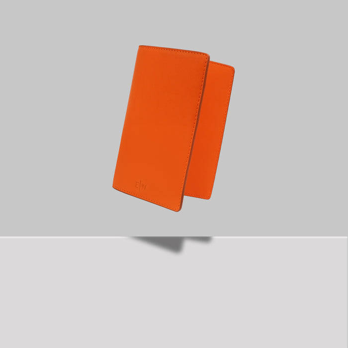 GRAND ST PASSPORT HOLDER ORANGE