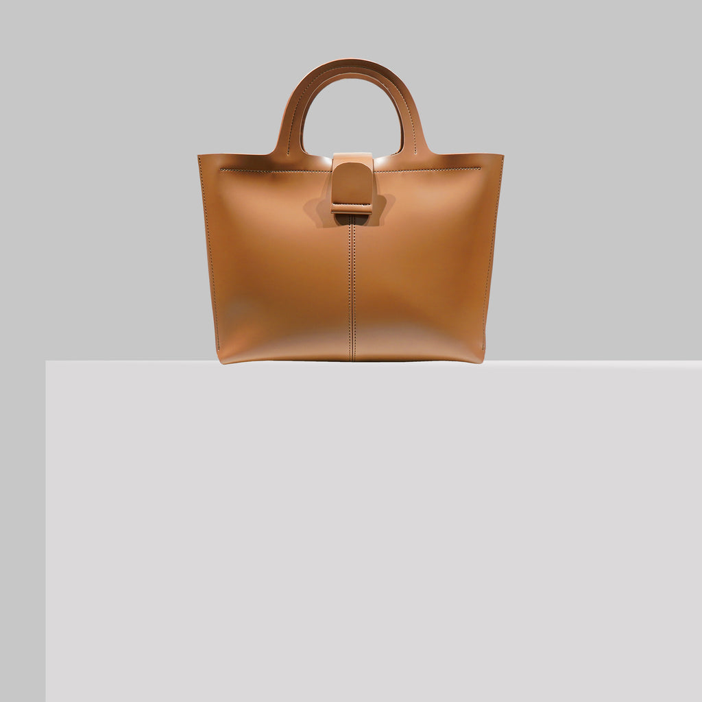 COLUMBUS AVE SATCHEL TAN
