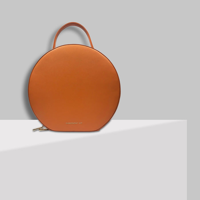 SOHO ROUND BACKPACK TAN