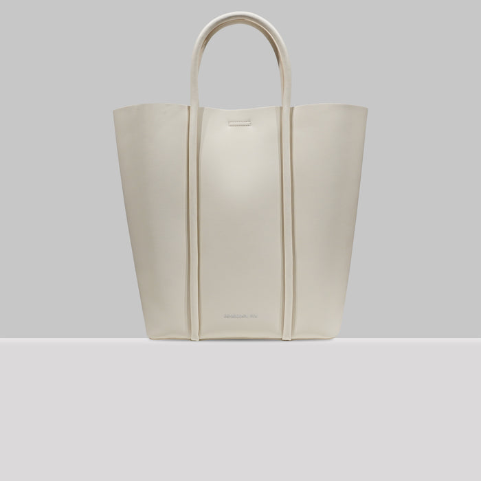 UPPER WEST SIDE TOTE WHITE
