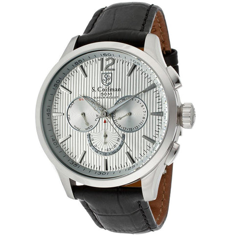 Men's S.Coifman Multi-Function GMT Watch SC0120