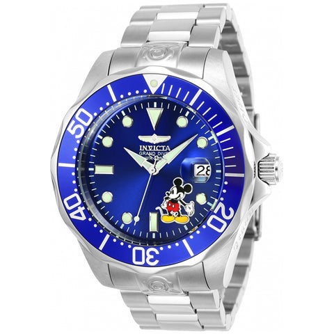 Invicta  Disney Limited Edition 24497  Stainless Steel  Watch