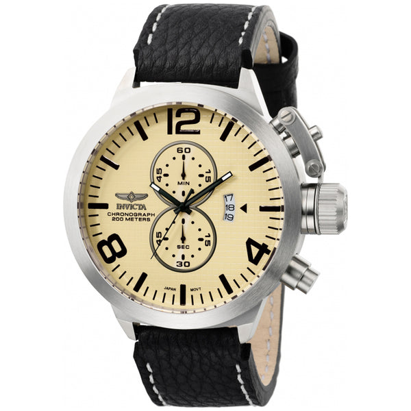Invicta  Corduba 3449  Leather Chronograph  Watch