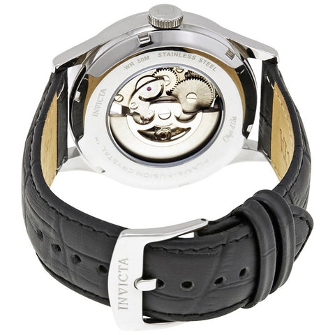 Invicta  Objet D Art 22594  Leather  Watch