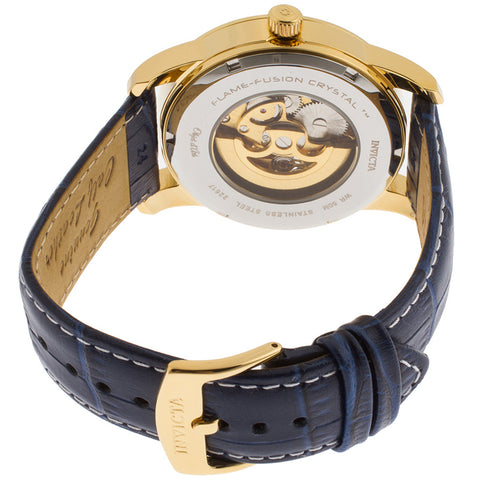 Invicta  Objet D Art 22617  Leather  Watch