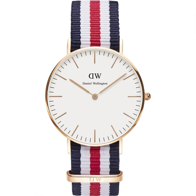Daniel Wellington Ladies' Canterbury 36mm Watch 0502DW - 1820 Watches