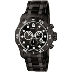 Invicta  Pro Diver 0076  Stainless Steel Chronograph  Watch