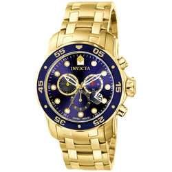 Invicta  Pro Diver 0073  Stainless Steel Chronograph  Watch