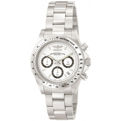 Invicta  Speedway 9211  Stainless Steel Chronograph  Watch