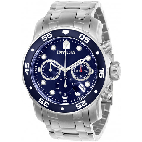 Invicta  Pro Diver 21921  Stainless Steel Chronograph  Watch