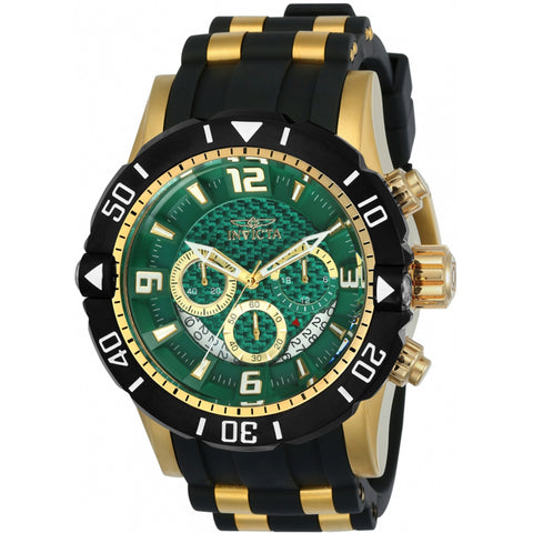 Invicta  Pro Diver 23703  Polyurethane, Stainless Steel Chronograph  Watch