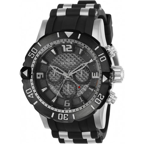 Invicta  Pro Diver 23698  Polyurethane, Stainless Steel Chronograph  Watch