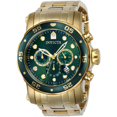 Invicta  Pro Diver 23653  Stainless Steel Chronograph  Watch