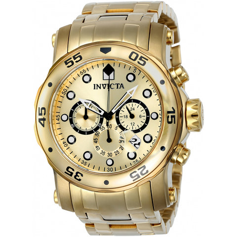 Invicta  Pro Diver 23652  Stainless Steel Chronograph  Watch