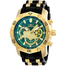 Invicta  Pro Diver 23425  Silicone, Stainless Steel Chronograph  Watch