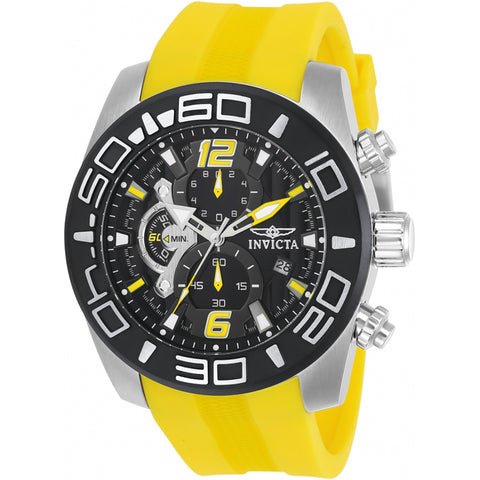 Invicta  Pro Diver 22808  Silicone Chronograph  Watch