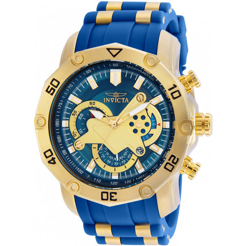 Invicta  Pro Diver 22798  Silicone, Stainless Steel Chronograph  Watch