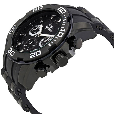 Invicta  Pro Diver 22338  Silicone, Stainless Steel Chronograph  Watch