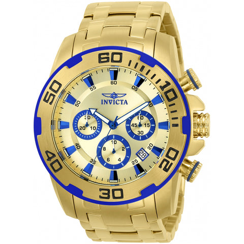 Invicta  Pro Diver 22320  Stainless Steel Chronograph  Watch