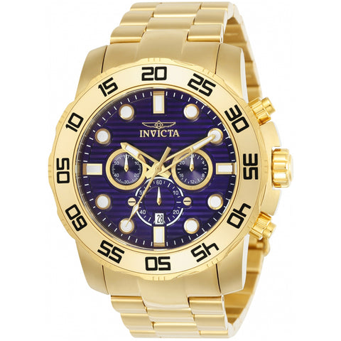 Invicta  Pro Diver 22228  Stainless Steel Chronograph  Watch