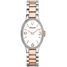 Bulova Diamond Gallery Ladies Watch 98R190
